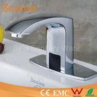 Chrome Basin Mixer Tap Bathroom Automatic Sensor Faucet Contemporary automatic shut off faucet
