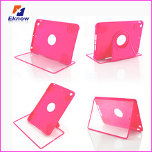 High quality flip TPU case for ipad mini with Screen Protector
