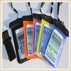 OEM pvc waterproof bags for mobile phone Camera and pad