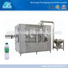 Automatic bottle washing filling capping machine/small bottle filling machine/PET bottle water filling machine