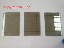 6mm cut size float silver bathroom mirror , double coated Italy Fenzi paint