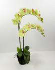 New fabric artificial flower orchid
