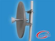 4.95-5.85 GHz 36dBi Dual-POL Dish Antenna