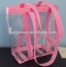 2014 Trendy item good quality plastic pvc shopping tote bag