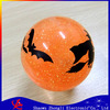 2014 LED Flashing Water Bouncy Ball with Glitter with led Halloween Water Bouncy Ball