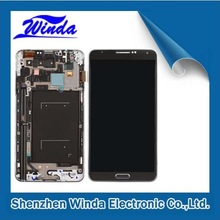 Competitive price for samsung note iii n9005 lcd with touch screen