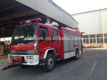 Japan 4x2 3000 liter mini water fire truck