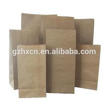 grocery kraft brown paper bag no handle
