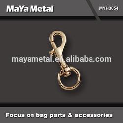 high end metal locking swivel hook hardware for purse MYH3054-MaYa Metal