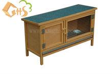 wooden outdoor rabbit hutch 12001