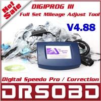 Newest Version V4.88 Digiprog III Full Set with Full Software Digiprog3 odometer adjustment Digiprog 3 with all cables