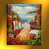 Good quality modern the Mediterranean art oil painting home art decor