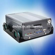 NTSC/PAL D1 client software in vehicle recording dvr h.264
