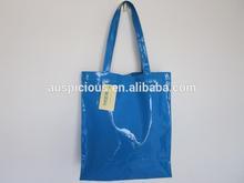 Trendy item vinyl pvc plastic tote beach shopping bag