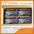 Precio de fábrica! Iks Wireless Router Dongle para digital receptor de TV por satélite FTA Dongle caliente