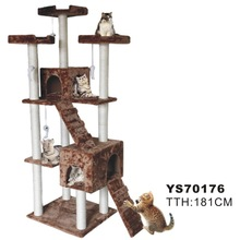Cat scratching tree with original design and perfect quality