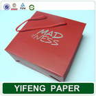 Alibaba Supplier wholesale promotional boutique recyclable reusable foldable cheap custom printed paper bag