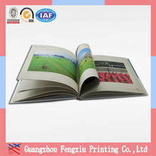 A4 High Quality Full Color Landscape Hardcover Book Printing
