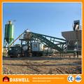simple automático mojado mezcla de hormigón de cemento de la planta de proceso por lotes de equipo