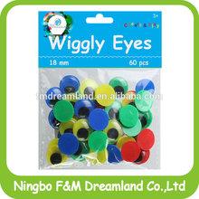 DIY googly eyes for toys plastic