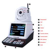 Wanscam Model-HW0035 Wifi Door Sensor,Motion Detection email alarm,Mobile View,Audio Talk back,Built in SD Card Slot IP mini cam