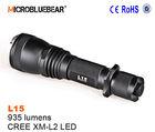 Microbluebear Cree XM-L2 LED 1000 Lumens multi-function police flashlight
