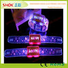 2014 Most popular flashing promotion gift led light wrist band