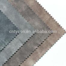Leather cloth soft pu coated
