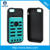 Credit card holder PC+TPU combo phone case for Phone 5/5s/5c/i6