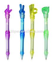 Hand bone shape ball pen