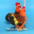 magnífico animal adornment modelo de simulación de pollo gallina vieja