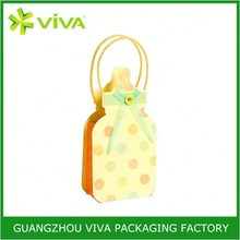 Top quality logo printed paper shopping bags