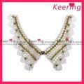 New design de moda handmade collar lace poliéster lingerie WNL-1161