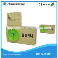 (C1101) 2014 flip magnetic perpetual calendar