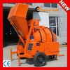 Hydraulic Self-loading JZR500 Diesel engine concrete mixer