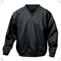 Premium Golf Pullover,high quality V neck Latest Golf Wind Breaker Jacket Made in China