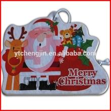 2mm merry Christmas Santa Claus good car air freshener