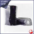 dark amethyst zircon rough stone