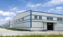 Light color warehouse steel frame structure/steel frame/workshop/poutry shed/garage