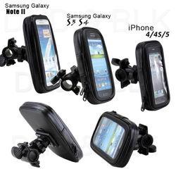 Bike Bicycle Waterproof Phone Zipper Case Bag Pouch Handlebar Mount Holder