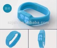 Multi-function LED Watch bracelet usb flash drive ,factory price usb, Silicone USB flash memory