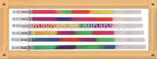rainbow gel ink pen refill