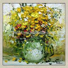 Decorative Famous Flower Painting On Canvas