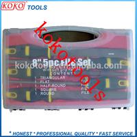 5pcs set blow case steel files hand tools
