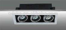 Flexible rotation head 150W halogen downlight energy saving grille spot light