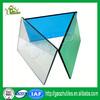 lexan uv coating textured anti-fog corrugated impact resistance corrugated plastic greenhouse panels