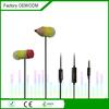 eco-friendly silicone best earbud earphones