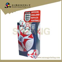 design and printing POS square dump bins basketball /football display boxes