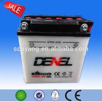 12N5-3B good quality lead acid battery 12v 5ah for motorcycle manufacturer 12 v5ah