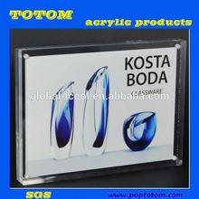 POP acrylic picture frame insert/acrylic frames/acrylic